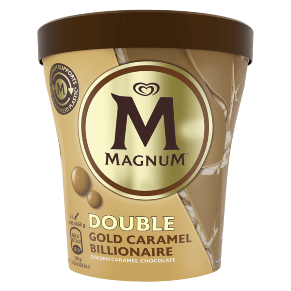 41709 OLA Magnum Pot Double Gold Caramel Billionaire