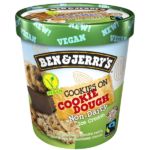 Non-Dairy Cookies on Cookie Dough 8 x 500ml